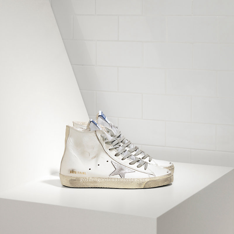 Golden Goose Deluxe Brand Francy Sneakers In Leather And Suede Star WS591G3